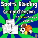 30 Sports Reading Comprehension Passages: Text Evidence +