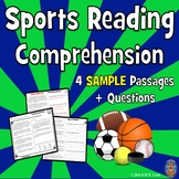 4 SAMPLE Sports Reading Comprehension Passages: Fun Fall Reading