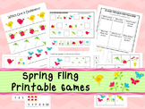 30 Spring Fling Games Download. Games and Activities in PDF files.