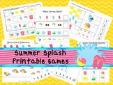 30 Summer Splash Games Download. Games and Activities in P