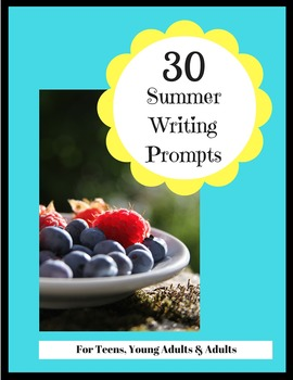 30 Summer Writing Prompts