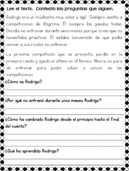 COMPRENSIÓN LECTORA - BUNDLE (30+) Textos en Español | reading comprehension