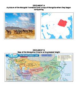 UNIT 5 LESSON 4. The Mongols DBQ ESSAY