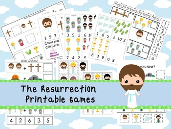 30 The Resurrection themed Printable Games and Activities.