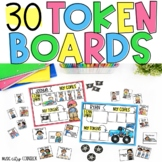 30 Themed Token Boards for Behavior Support!
