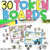 Token Boards, Visual Reward Choice Menu, Behavior Modification: 30 Themes!