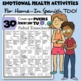 30 Things We Can Do For Our Emotional Health | SEL Resource Sheet | Spanish Too