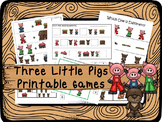 30 Three Little Pigs Games Download. Games and Activities in PDF files.