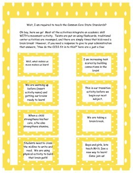 30 Ways to Move and Groove through Literacy and Math