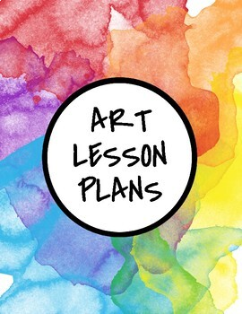 30 Week K-5 Art Curriculum with Lesson Plans Bundle