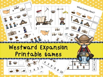 30 Westward Expansion Games Download. Games and Activities in PDF files.
