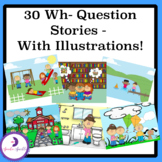 30 Wh- Question Story Scenes