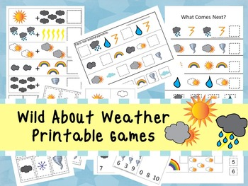 30 Wild About Weather Games Download. Games and Activities in PDF files.