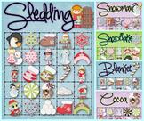 30 Winter Bingo Cards