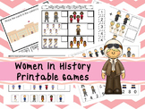 30 Women in History Games Download. Games and Activities in PDF files.