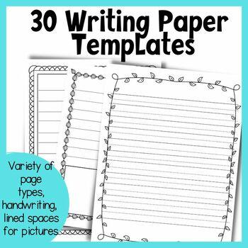 30 Writing Templates