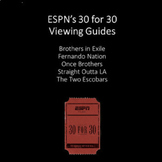 ESPN's 30 for 30 Bundle: SEVEN Viewing Guides for the ESPN Series