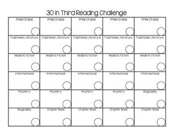 30 in Third Reading Challenge