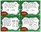 Football Frenzy Task Cards   TEKS 4.5B, 4.8B, 4.8C, and 5.7A