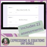 30% off Algebra 1 Expressions & Equations ENTIRE UNIT Mini
