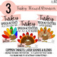 Turkey Speech Sound Activities- Thanksgiving Speech Therapy- No Prep