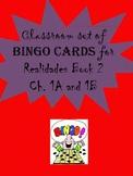 30 printable/editable Spanish Bingo Cards for Realidades B
