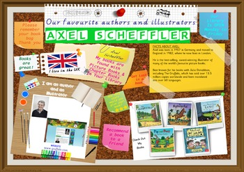 Poster - Axel Scheffler Author/Illustrator Of Picture Bks Print Your Own