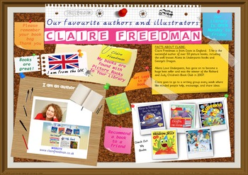 Poster - Claire Freedman UK Author Of Picture Books Print Your Own