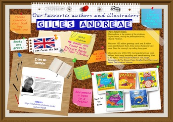 Library Poster Hi Res - Giles Andreae Author Of Picture Books