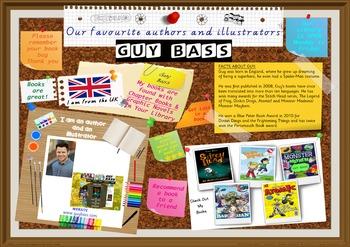 Poster - Guy Bass Author/Illustrator Of Graphic Novels Pri