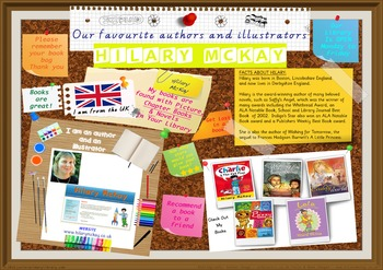 300 DPI Poster - Hilary McKay Author Of Picture Books Prin