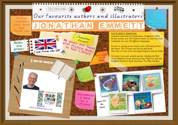 Library Poster Hi Res - Jonathan Emmett UK Author Of Picture Books