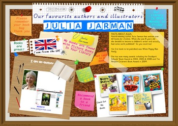 Library Poster Hi Res - Julia Jarman UK Author Of Picture Books