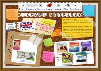 Poster - Michael Morpurgo Author Of Chapter Bks & Novels Print Your Own