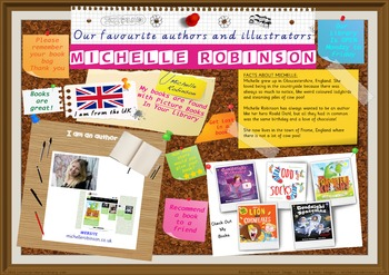 Library Poster Hi Res - Michelle Robinson UK Author Of Picture Books