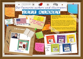 Poster - Jeff Kinney Author Of Diary Of Wimpy Kid Books Print Your Own