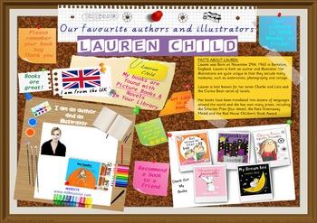 Library Poster Hi Res - Lauren Child Author/Illustrator Of Picture Books