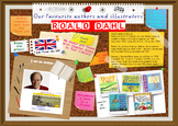 Library Poster Hi Res - Roald Dahl UK Author Of Chapter Bo