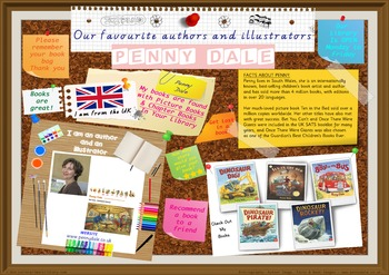 Library Poster Hi Res- Penny Dale Author/Illustrator Of Picture & Chapter Books