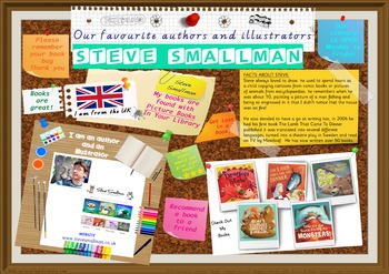 Poster - Steve Smallman Author/Illustrator Of Picture Bks Print Your Own