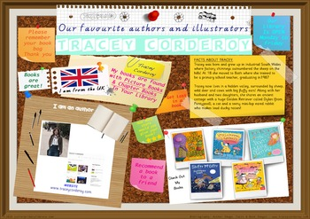 Poster -  Tracey Corderoy UK Author Of Picture Books Print Your Own