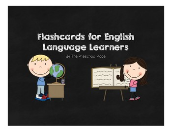 Flashcards for English Language Learners- Online teaching, ESL, ELL