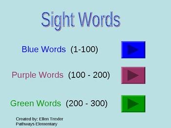300 Fry Sight Words