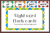 300 Sight word flash cards
