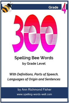 300 Spelling Bee Words For 4th Grade