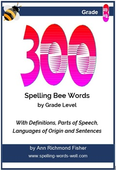 300 Spelling Bee Words for 8th Grade