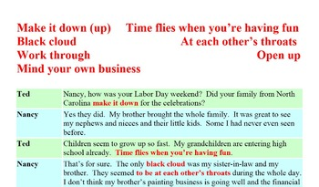 3002 Time Flies - American Idiomatic Expressions Conversation Role Play