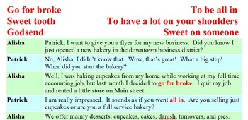 3006 Go For Broke - American Idiomatic Expressions Conversation Role Play