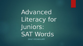 301 SAT Vocabulary Words - Bell Ringer Powerpoint