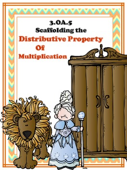"""3.0A.5 """"Scaffolding the Distributive Property of Multiplication"""""""